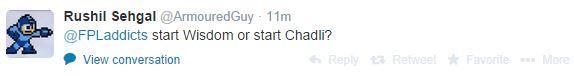 wisdom or chadli qanda