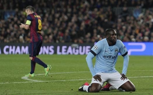 Manchester City's Ivorian midfielder Yay