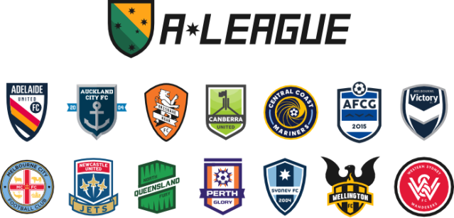 Concept Art of the A-League (Thanks to Raysox of SportsLogos.Net)